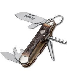 Böker - Manufaktur Soligen Camp Knife Stag 110182HH