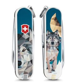 Nože Victorinox - Classic LE 2017 THE WOLF IS COMING HOME 0.6223.L1704