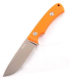 TRC Knives K-1s Orange G-10/ Kydex