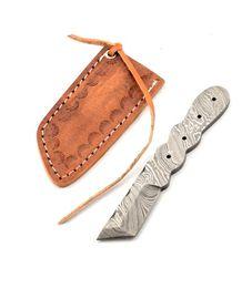 Damaškový nůž na krk - 02KPDAM