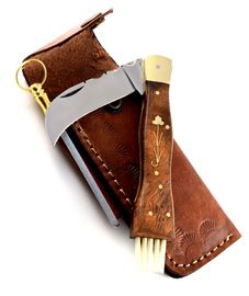 Exkluzivní houbařský nůž ručně dělaný