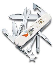 Nože Victorinox - Nůž Victorinox SUPER TINKER Winter Magic Special