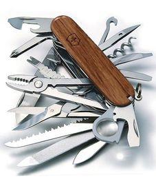 Nože Victorinox - Nůž Victorinox SWISSCHAMP 1.6794.69