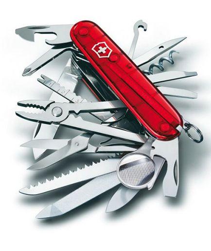 Nože Victorinox - Nůž Victorinox SWISSCHAMP 1.6795.T