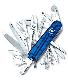 Nože Victorinox - Nůž Victorinox SWISSCHAMP 1.6795.T2