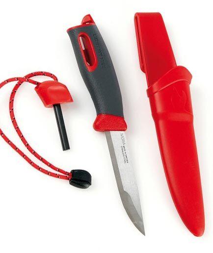 Swedish FireKnife - červený