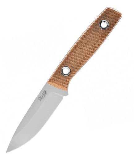 TRC Knives Classic Freedom M390/Natural Canvas Micarta