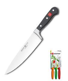 Wüsthof CLASSIC Nůž kuchařský 20 cm + Sada nožů